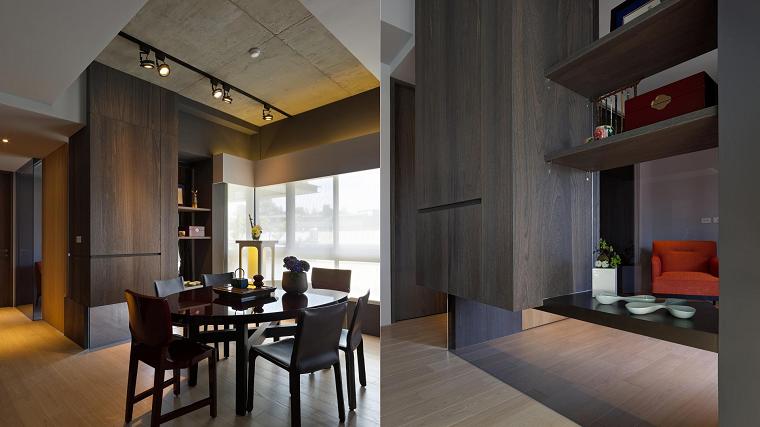 cobinacion materiales casa ideas modernas diseño