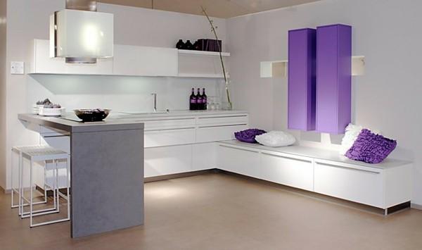 cocina adronos cojines lila moderna
