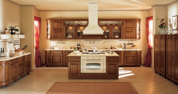 Dise os de cocinas a la ltima p ngase al d a for Cocinas grandes modernas