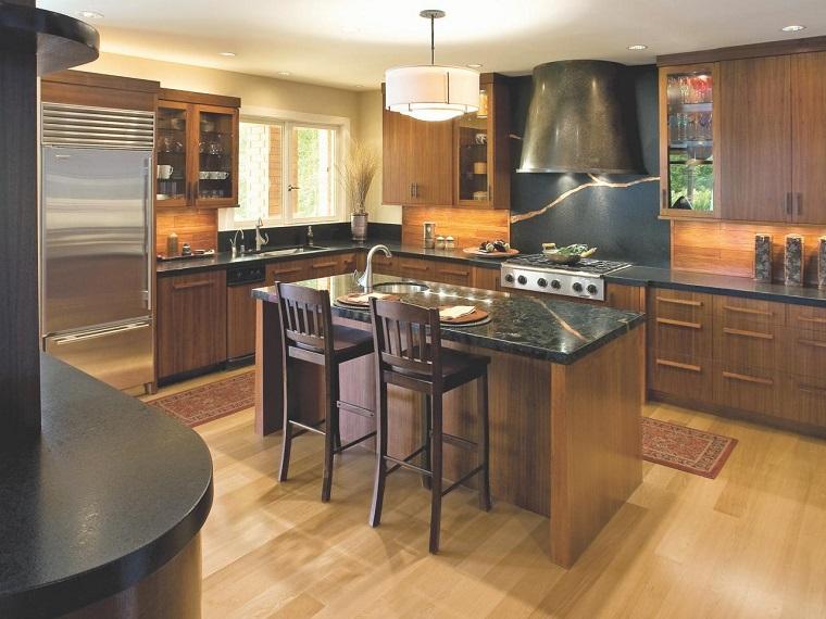 Como dise ar una cocina consejos utiles y provechosos - Sillas altas de cocina ...