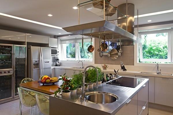 cocina lavadero aluminio campana frutas
