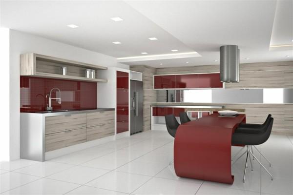 Dise os de cocinas a la ltima p ngase al d a - Azulejos cocinas modernas ...