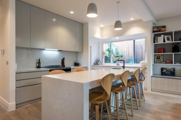 Cocinas pr cticas funcionales y originales consejos for Decoracion de cocinas modernas fotos