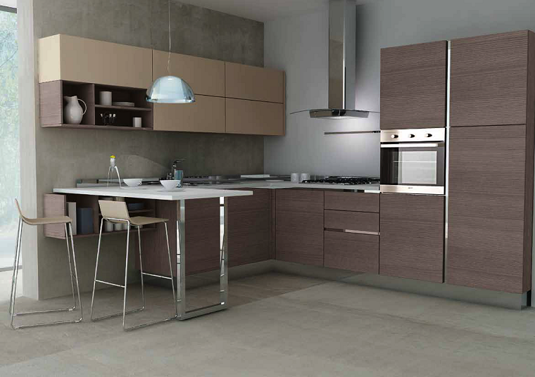 Mueble barra cocina diseno de muebles de cocina pequena for Mueble barra cocina
