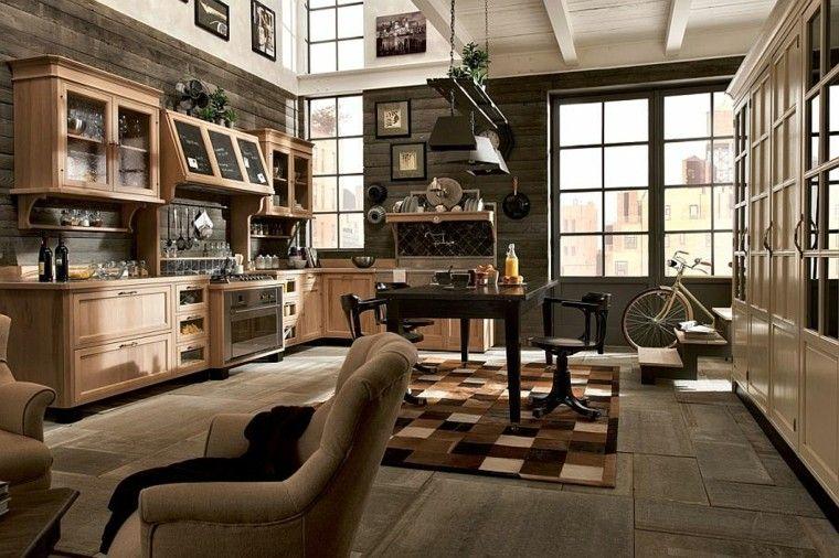 cocinas de diseño zona central abierta ideas espaciosa