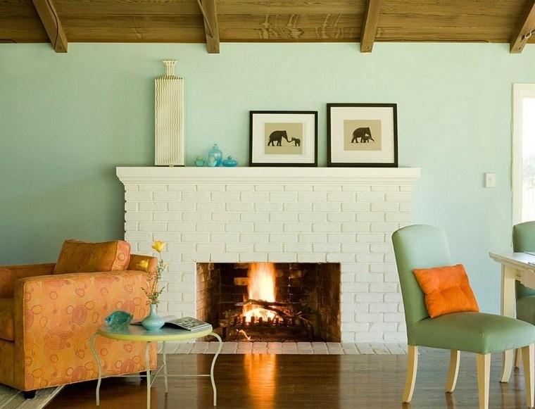 color blanco chimenea baldosa suelo ideas madera