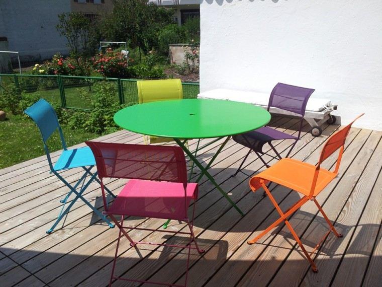 colores jardin fresco idea interesante bonita