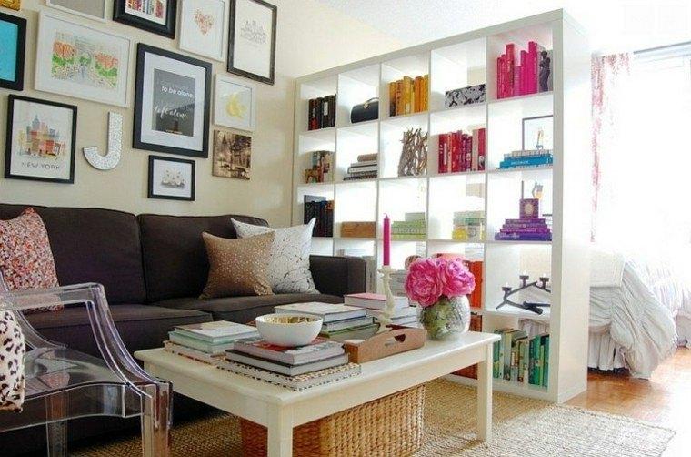colorido silla acrilico libros librero