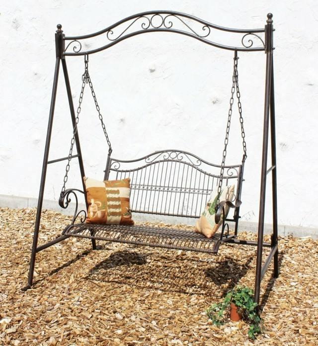 Muebles e ideas de accesorios modernos para el jard n - Columpios para jardin ...