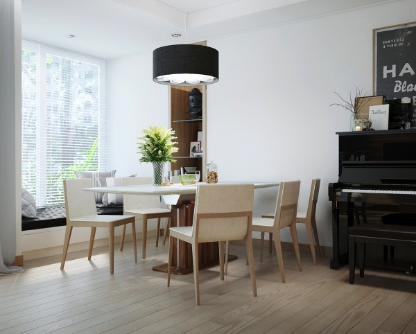 Mesas de cocina o comedor de dise o moderno tendencias - Mesa de comedor de diseno ...