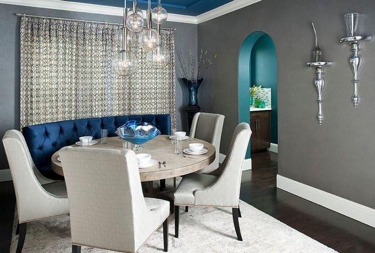 Comedores y decoración  regálate la elegancia del gris.
