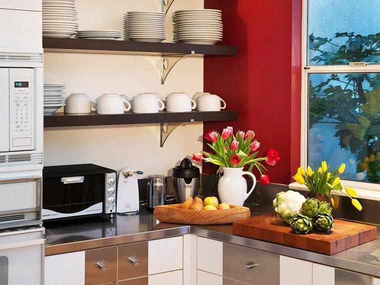 Como dise ar una cocina consejos utiles y provechosos for Como disenar una estanteria