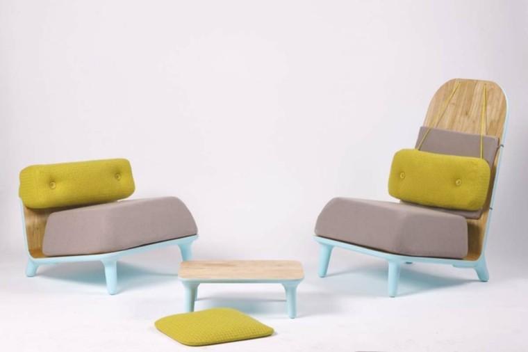 conjunto sillones diseo moderno - Sillones Diseo