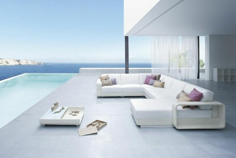Sillones y sof s para exteriores rel jese en su jard n for Conjunto de sofas para exterior