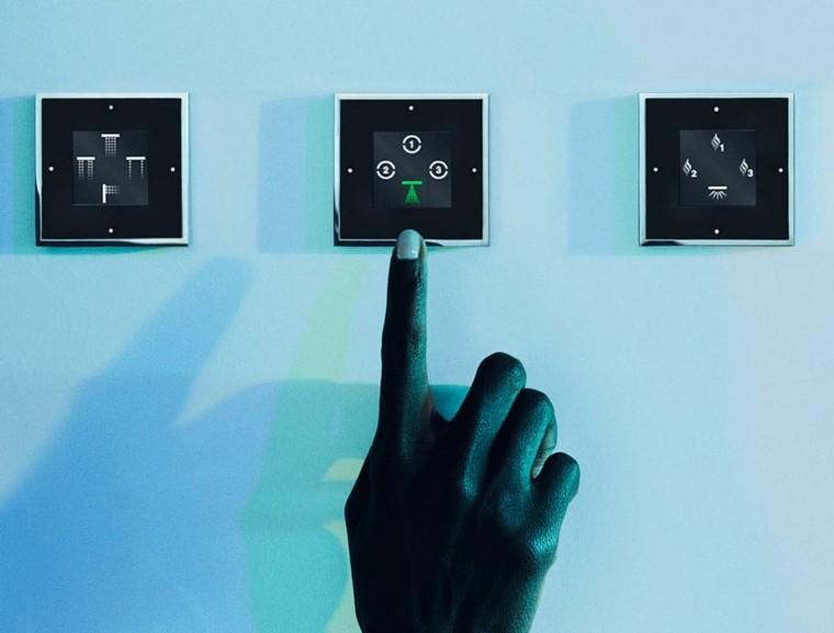 controles tactil regulacion moderno control
