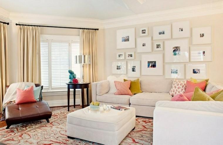 cortinas muebles diseño mesa cuadros
