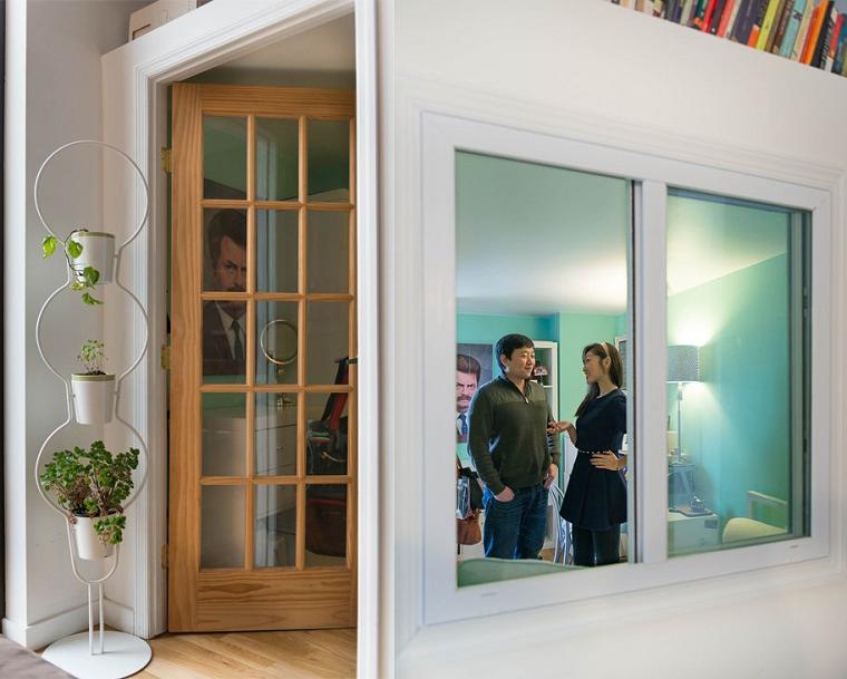 crea habitacion pequena ideas paredes blancas ventana