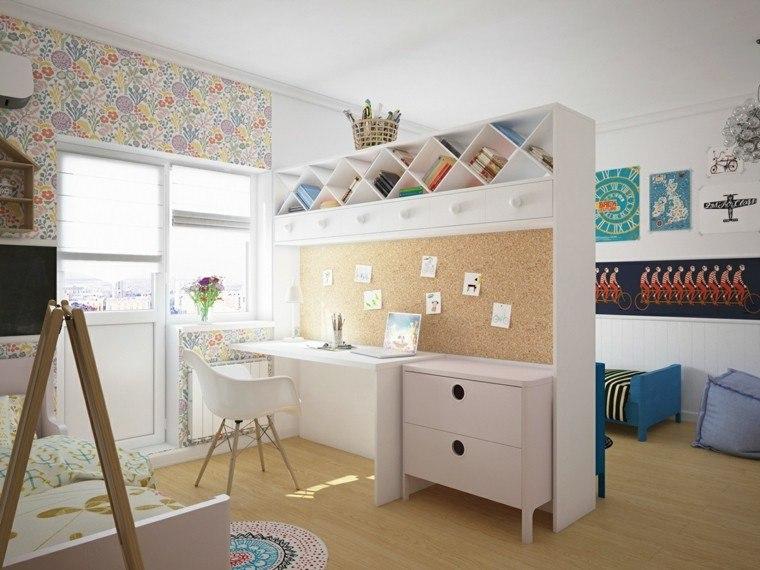 Creatividad para dormitorios infantiles funcionales y - Dormitorios infantiles de diseno ...