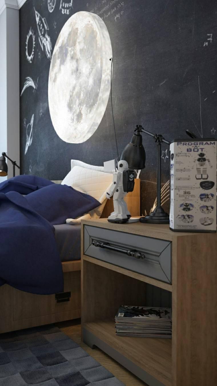 creatividad para dormitorios infantiles mueblelibros luna