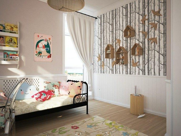 creatividad para dormitorios infantiles niña espacio juguetes