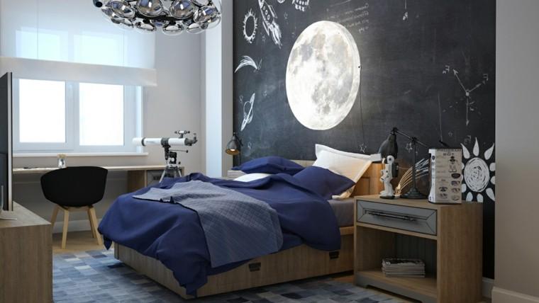 creatividad para dormitorios infantiles pizarra cama pizarra