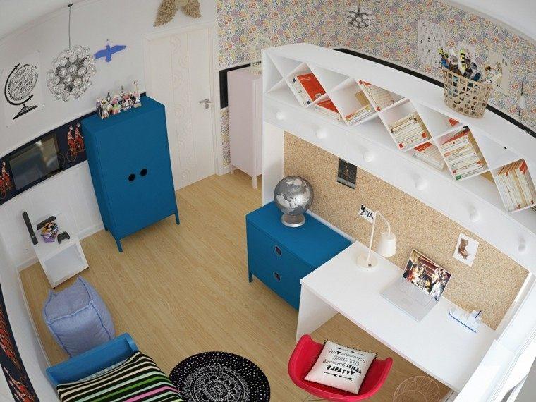 creatividad para dormitorios infantiles varon espacio niños