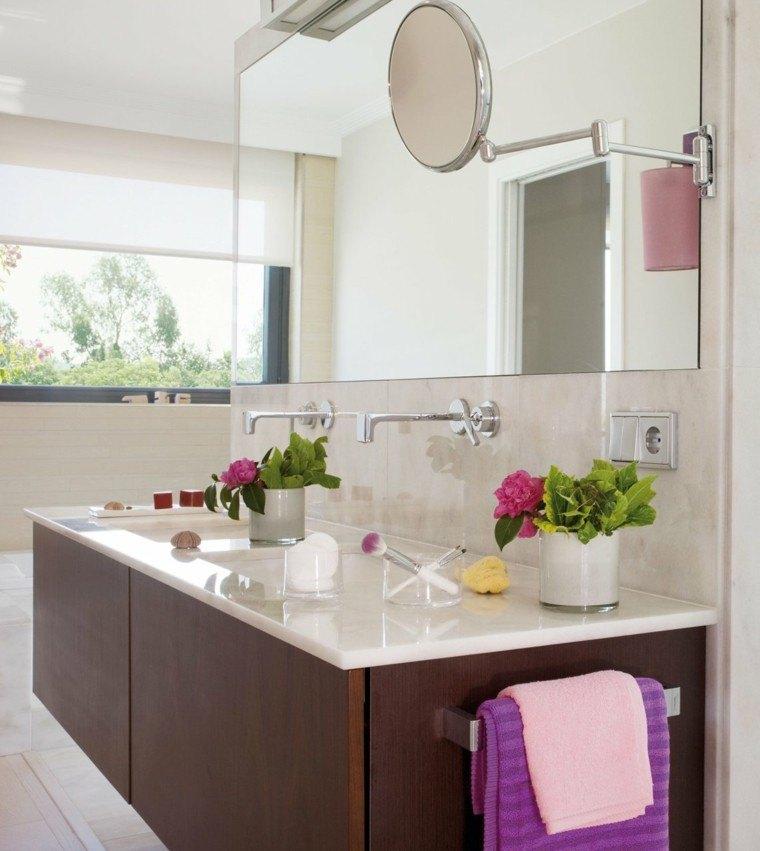 cuarto baño mueble madera barato