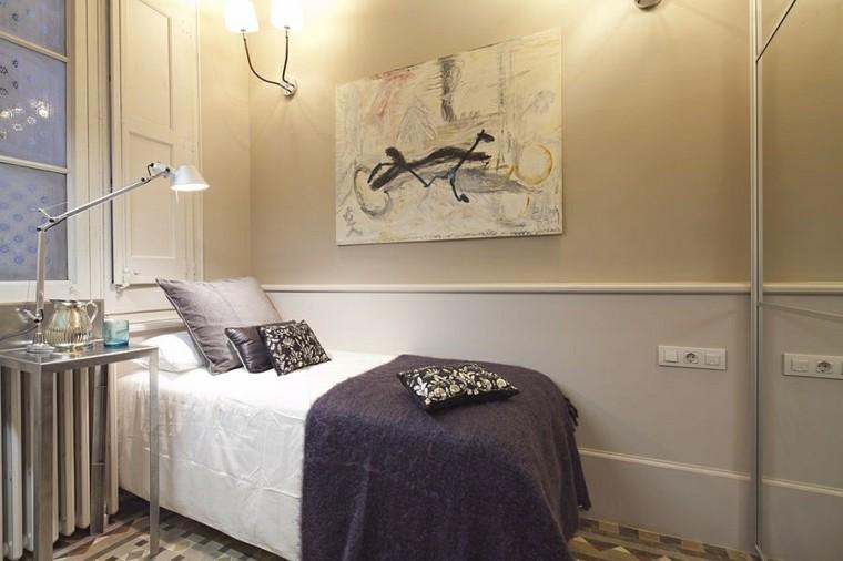 Habitaciones modernas para solteras y solteros for Mesillas de habitacion