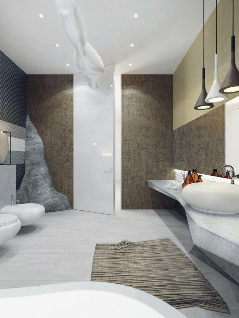 Muebles ba o lujosos de dise os modernos for Disenos de cuartos de banos modernos