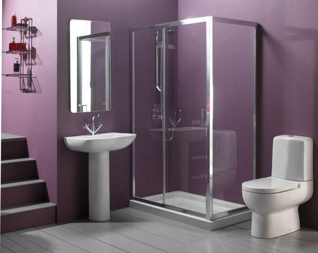 cuartos de baño blanco luz contraste blanco