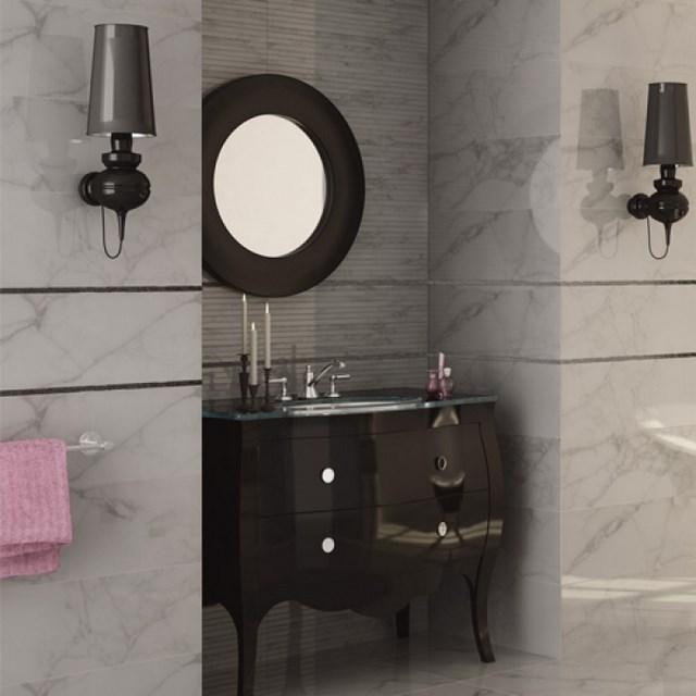 cuartos de baño espejo lamparas mueble toalla