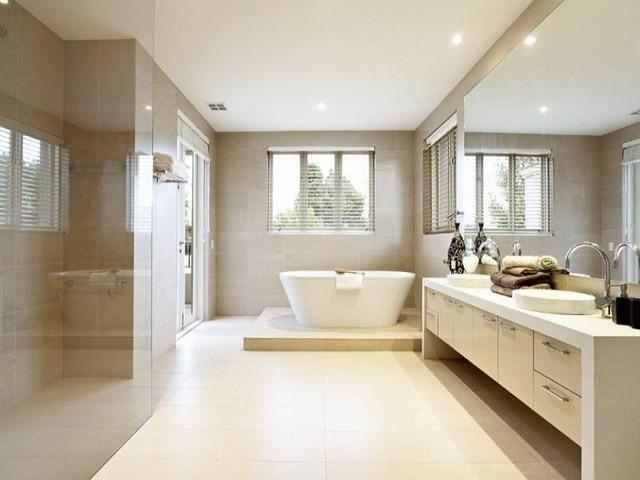 cuartos de baño luces brillante bañera luces led