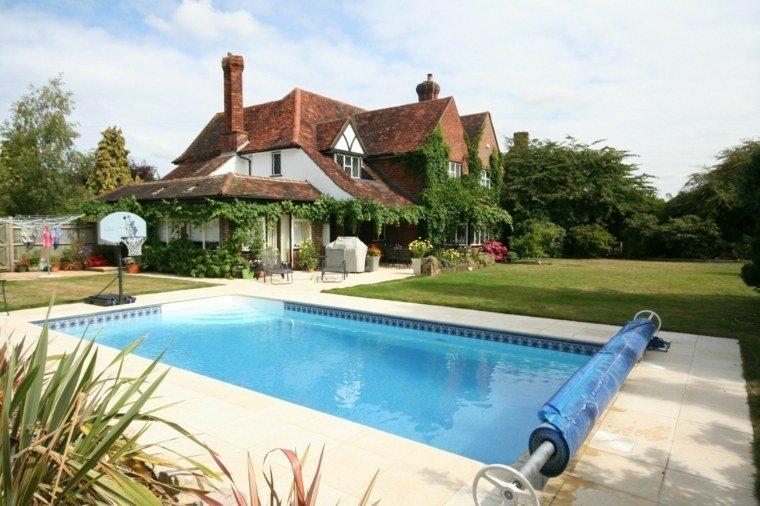 Piscinas para jard n un oasis en tu hogar for Hire a swimming pool for the garden