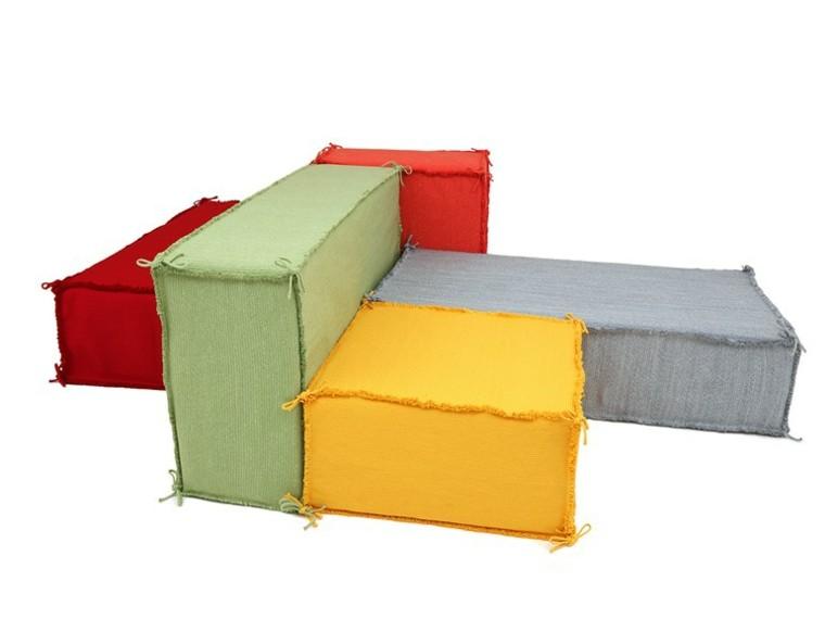 darono cubos tela colores sofa