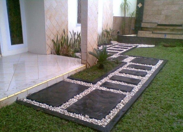Piedras decorativas para tu jard n japon s - Como decorar mi jardin con piedras y plantas ...