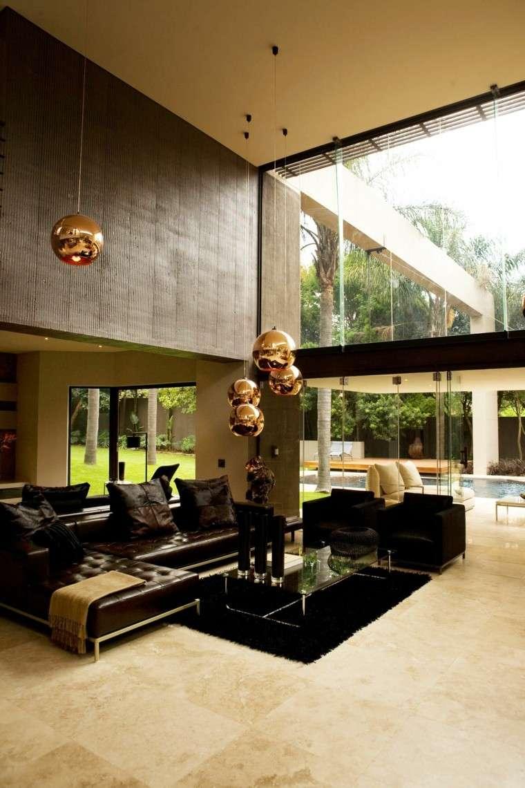 decoración interior detalles dorados