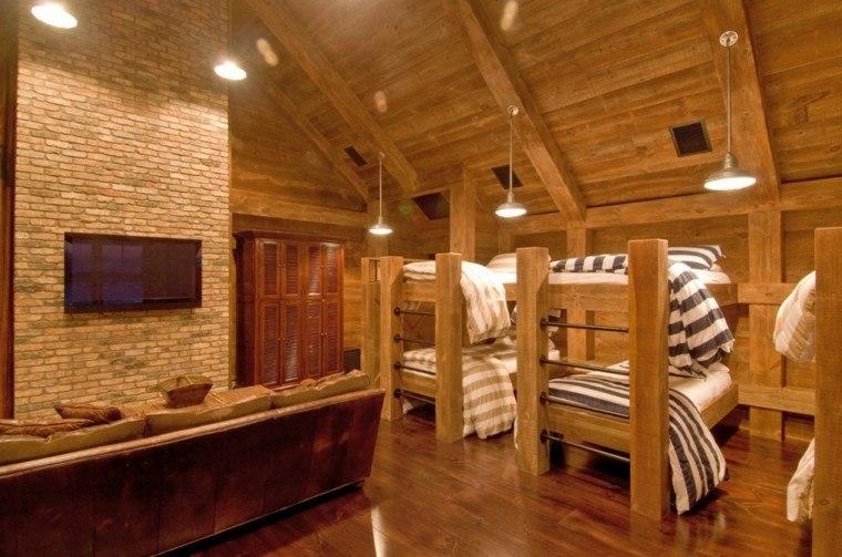Decoracion rustica para los dormitorios juveniles for Decoracion rustica moderna