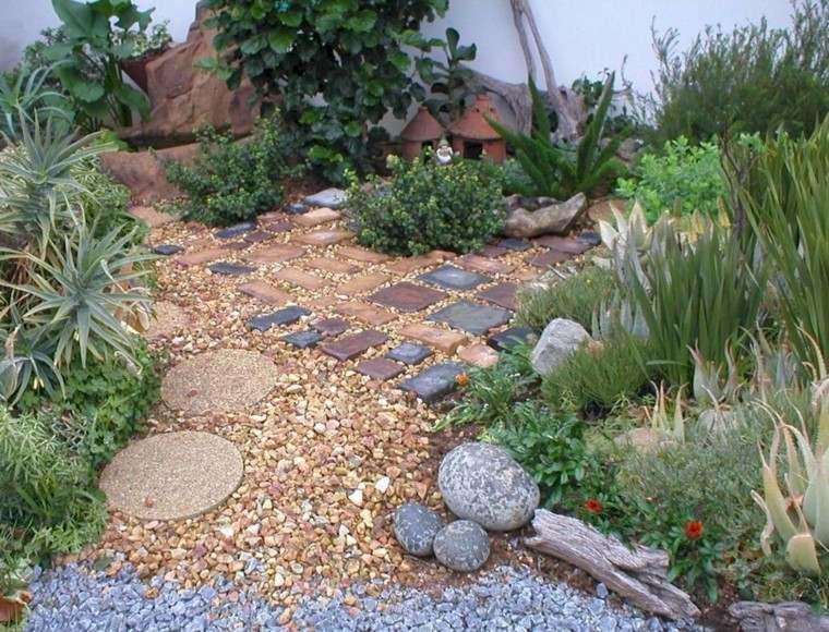 decoracion piedrecitas para jardin