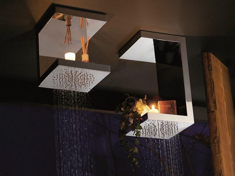 decoración baño ducha diseño ideas ingenioso