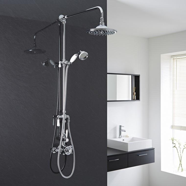 Baños Con Ducha Negra:Decoración baños con duchas de diseño últimas tendencias