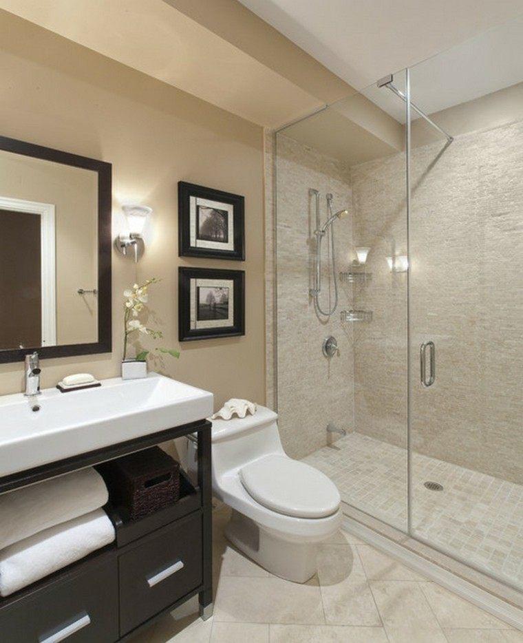 decoracion baños pequeños apartamento diseño cuadros
