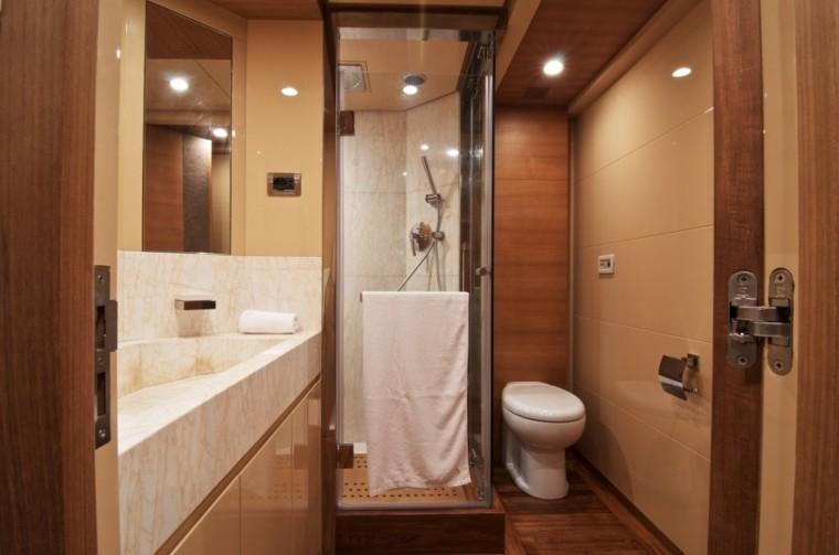 decoracion baños pequeños idea lujo madera