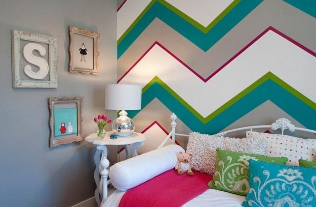 decoración de dormitorios infantiles colorido cuadros