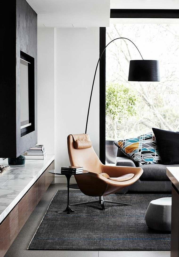 decoración de interiores para lecturas sofa mesa moderno