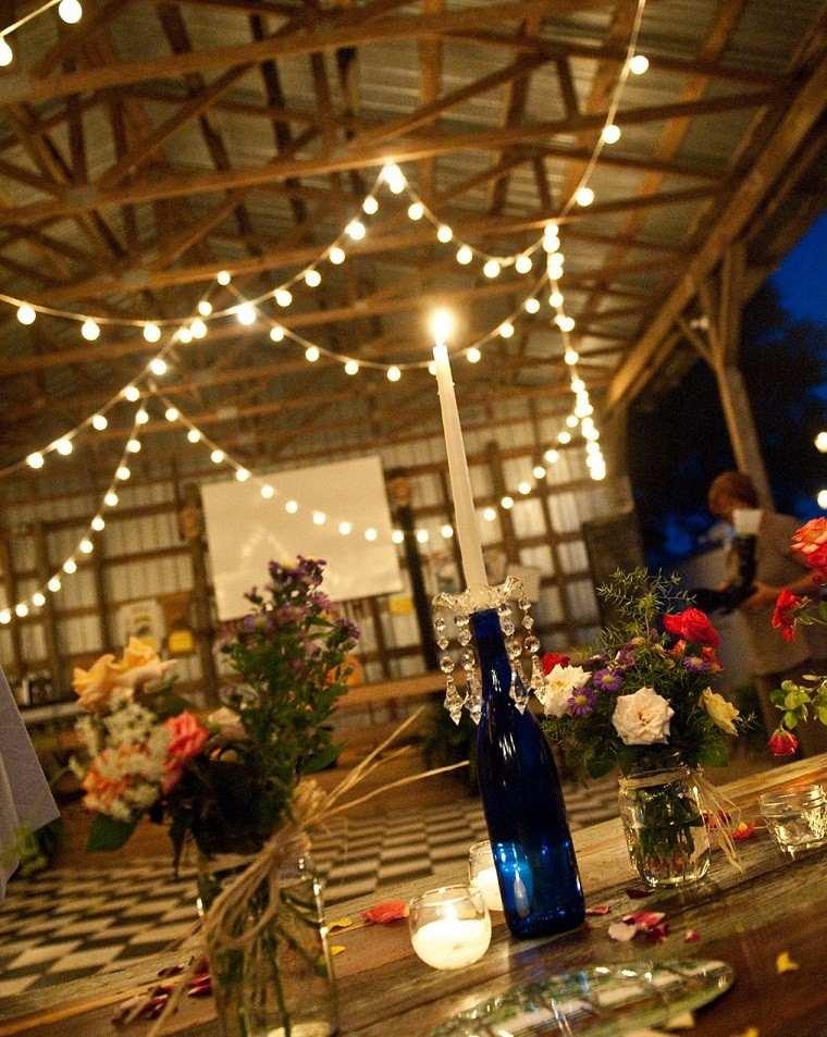 Decoraci n de terrazas para fiestas diversi n garantizada for Luces led para terrazas