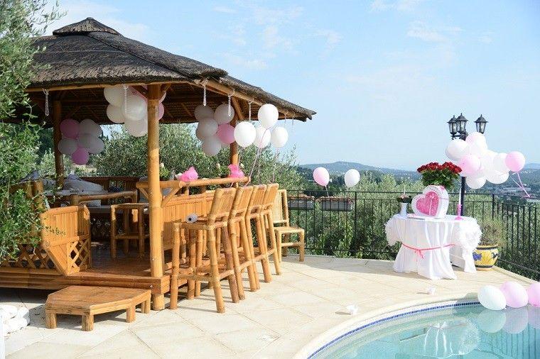 Decoración de terrazas para fiestas, diversión garantizada.