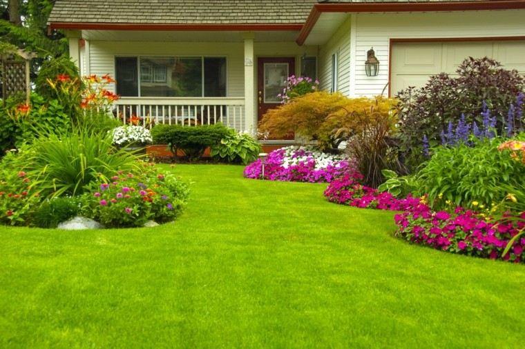 Flores Bonitas Que No Deben Faltar En El Jardin - Decoracion-de-jardines-con-plantas