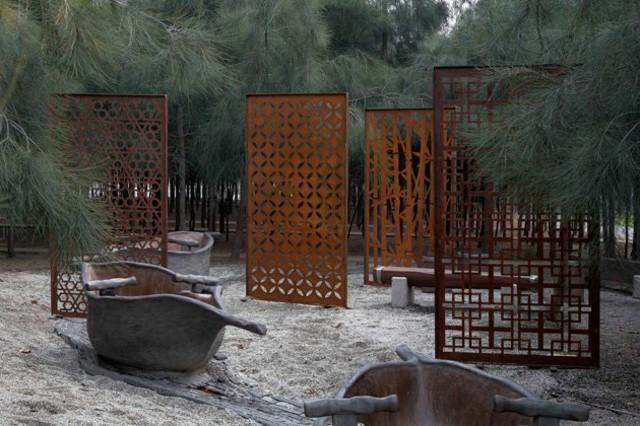 decoracion moderno planta botes paneles