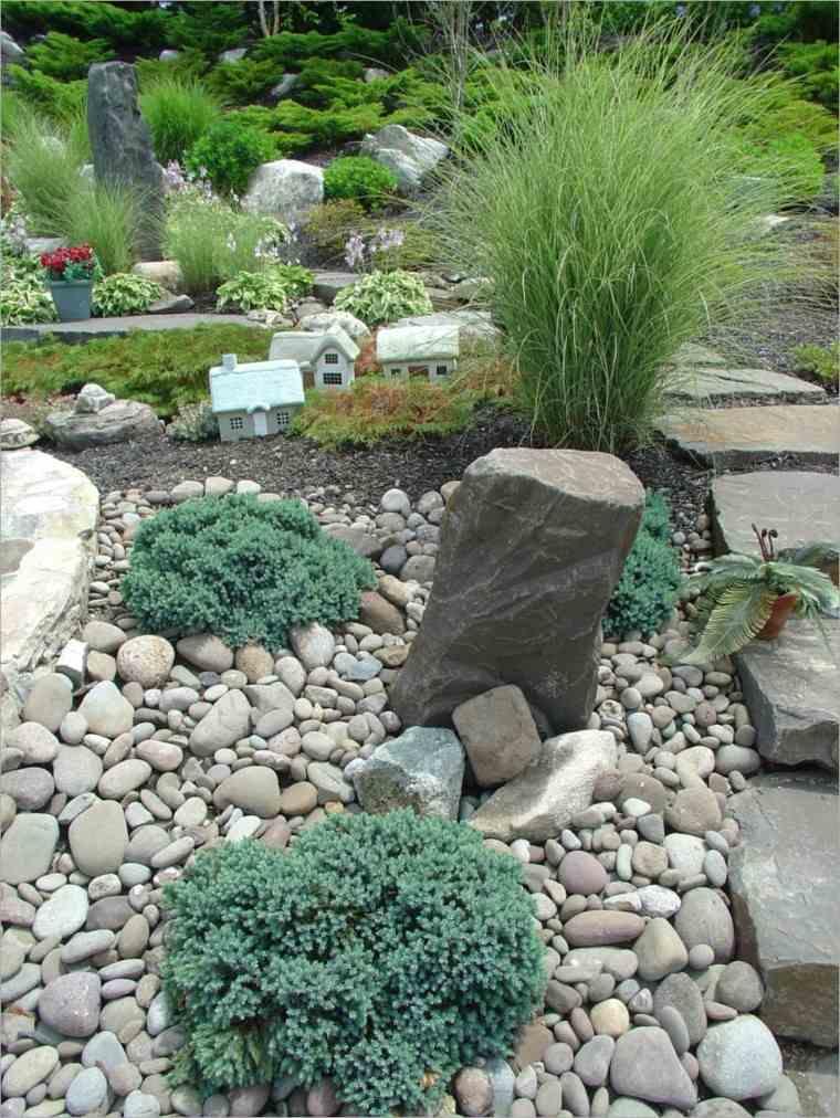 decoracion rocas de jardines paisaje