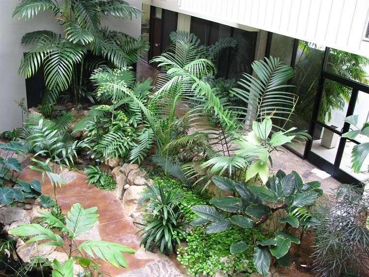 decoracion terrazas patios plantas